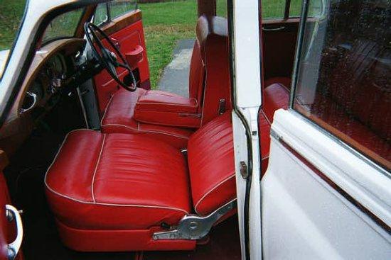 1955 Rolls-Royce Silver Cloud Radford Countryman Prototype interior