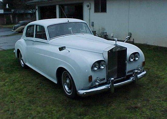 1955 Rolls-Royce Silver Cloud Radford Countryman Prototype front