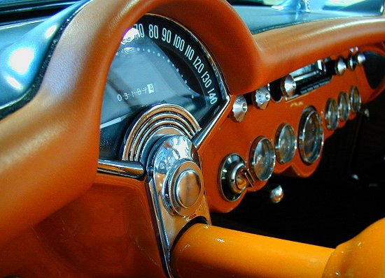 1957 Chevrolet Corvette interior