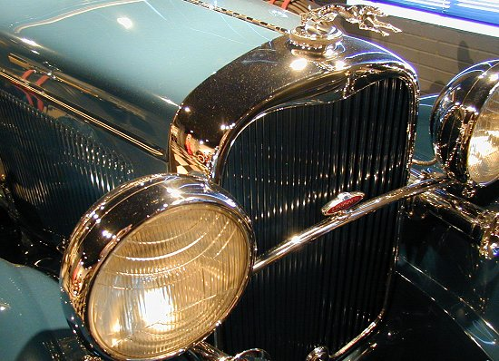 1931 Lincoln 202A Duel Cowl Phaeton
