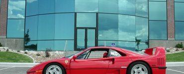 1992 Ferrari F40 rosso corsa