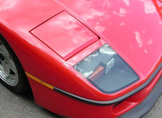 1992 Ferrari F40 Rosso Corsa Lights