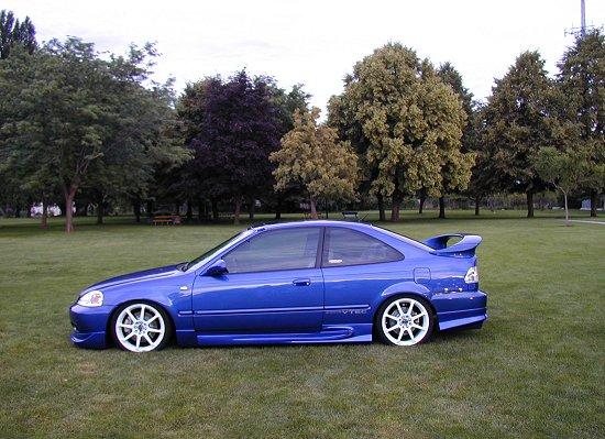 1999 Honda Civic SiModified