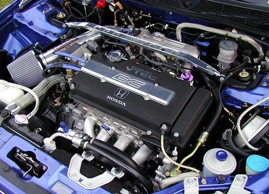 1999 Honda Civic SiModified Engine