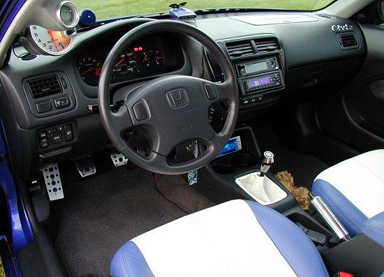 1999 Honda Civic SiModified Interior