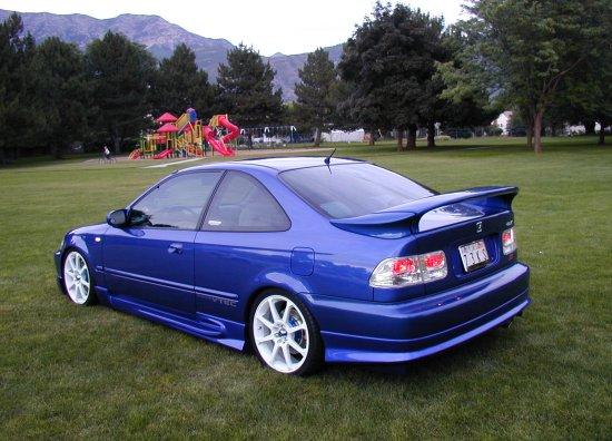1999 Honda Civic SiModified Side