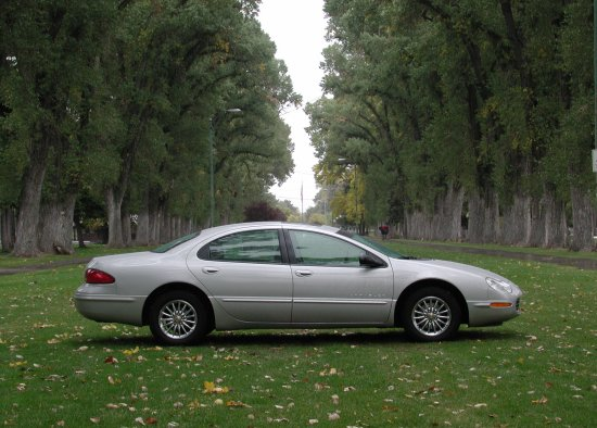 2001 Chrysler Concord LXi bright silver