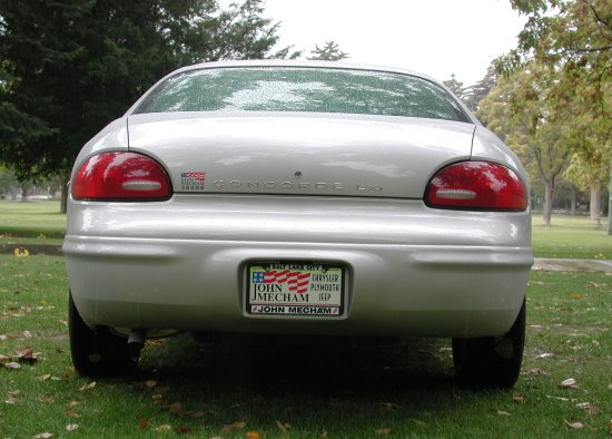 2001 Chrysler Concord LXi back
