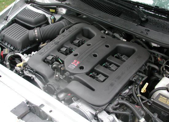 2001 Chrysler Concord LXi engine