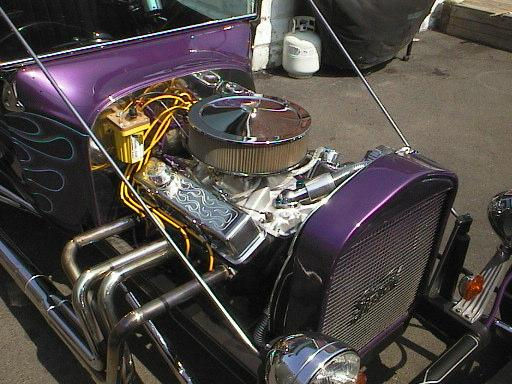 1923 Ford T Bucket purple
