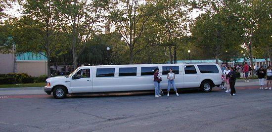 2000 Ford Excursion Stretch Limousine