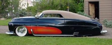 1950 Mercury Custom black