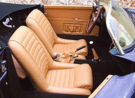 1958 Porsche 356 Speedster interior