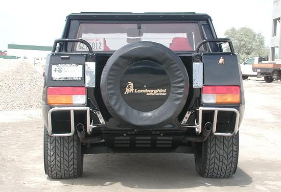 1991 Lamborghini LM002 back