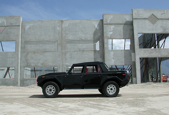 1991 Lamborghini LM002 Side