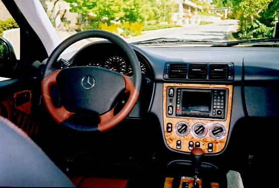 2001 Mercedes-Benz ML430 interior