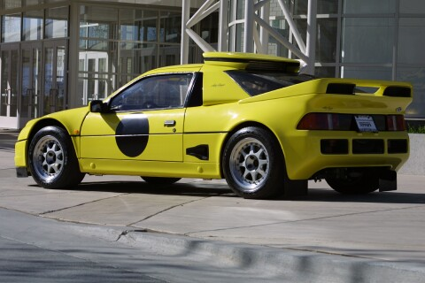 1986 Ford RS200 Evolution Street Car Side