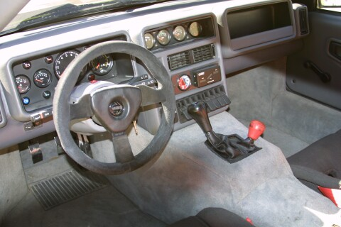 1986 Ford RS200 Evolution Street Car Interior
