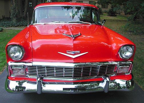 1956 Chevrolet Bel Air Nomad front
