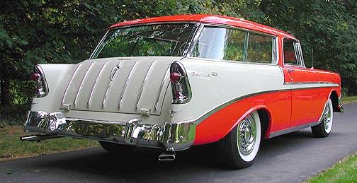 1956 Chevrolet Bel Air Nomad back