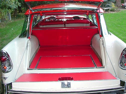 1956 Chevrolet Bel Air Nomad trunk