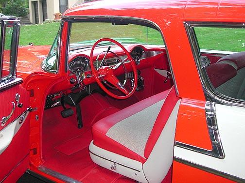 1956 Chevrolet Bel Air Nomad interior