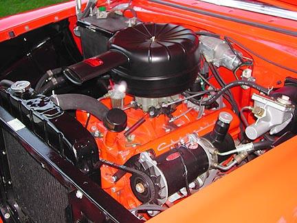 1956 Chevrolet Bel Air Nomad engine
