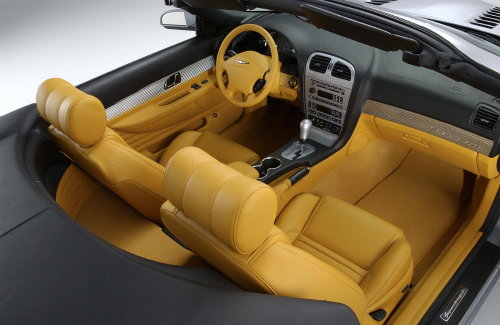 2003 Ford Thunderbird Supercharged Concept Interior