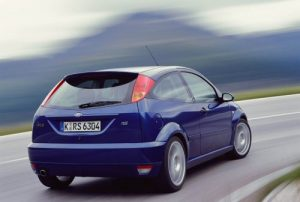 2003 Ford Focus RS back