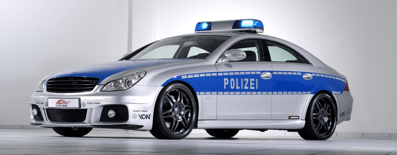 2007 Mercedes-Benz CLS BRABUS ROCKET Police Car