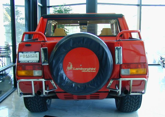 1990 Lamborghini LM002 American back