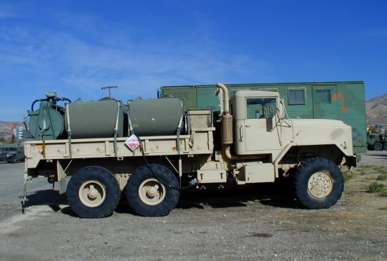 1993 AM General M923 A3 sand
