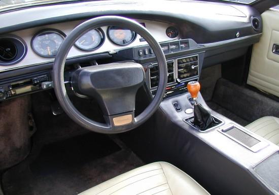 1974 Maserati Merak interior