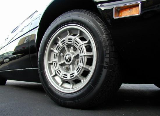 1974 Maserati Merak wheels