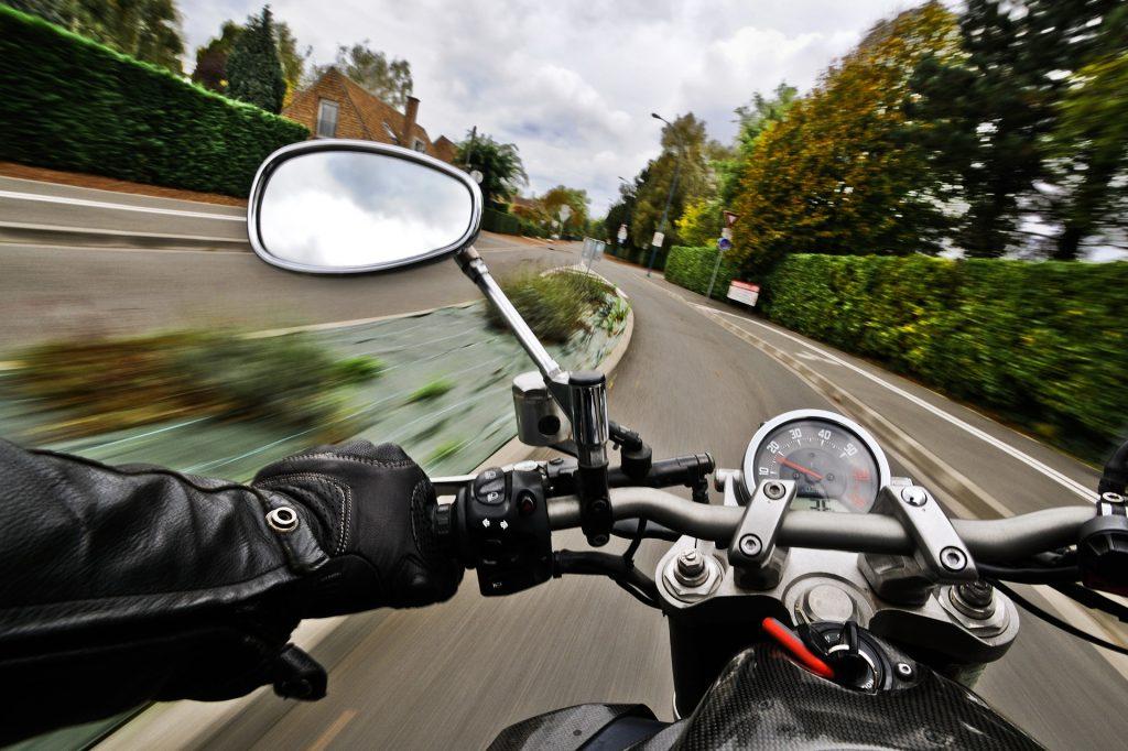 motorcycle blind spot