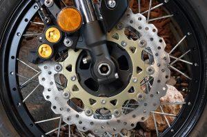 Motorcycle disk brakes