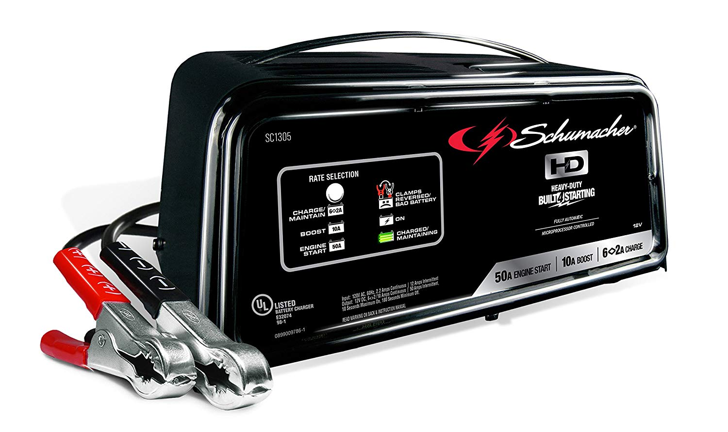 Schumacher SC1305 Automatic Battery Charger