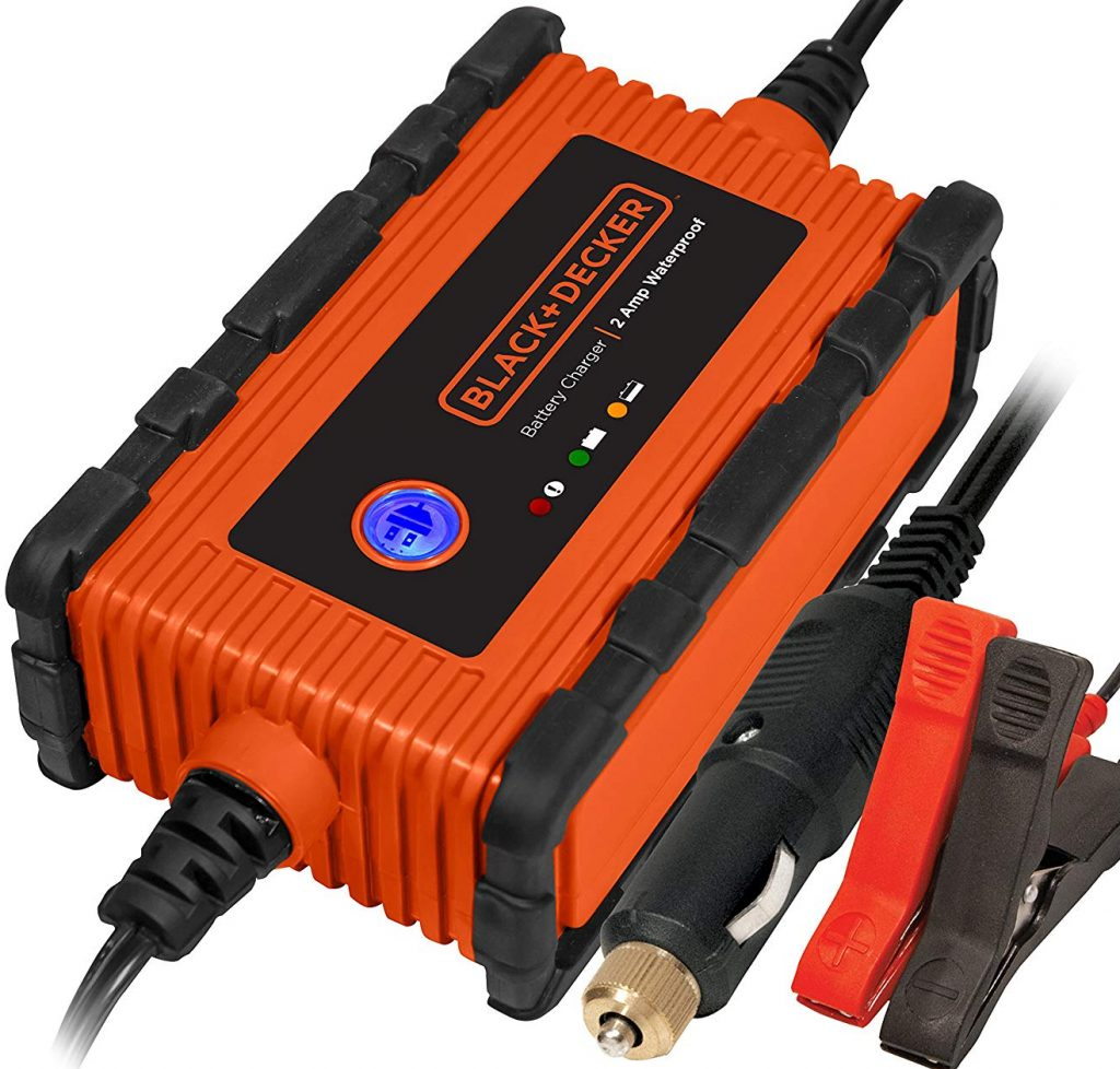 BLACK+DECKER BC2WBD 2 Amp Waterproof Automatic Battery Charger