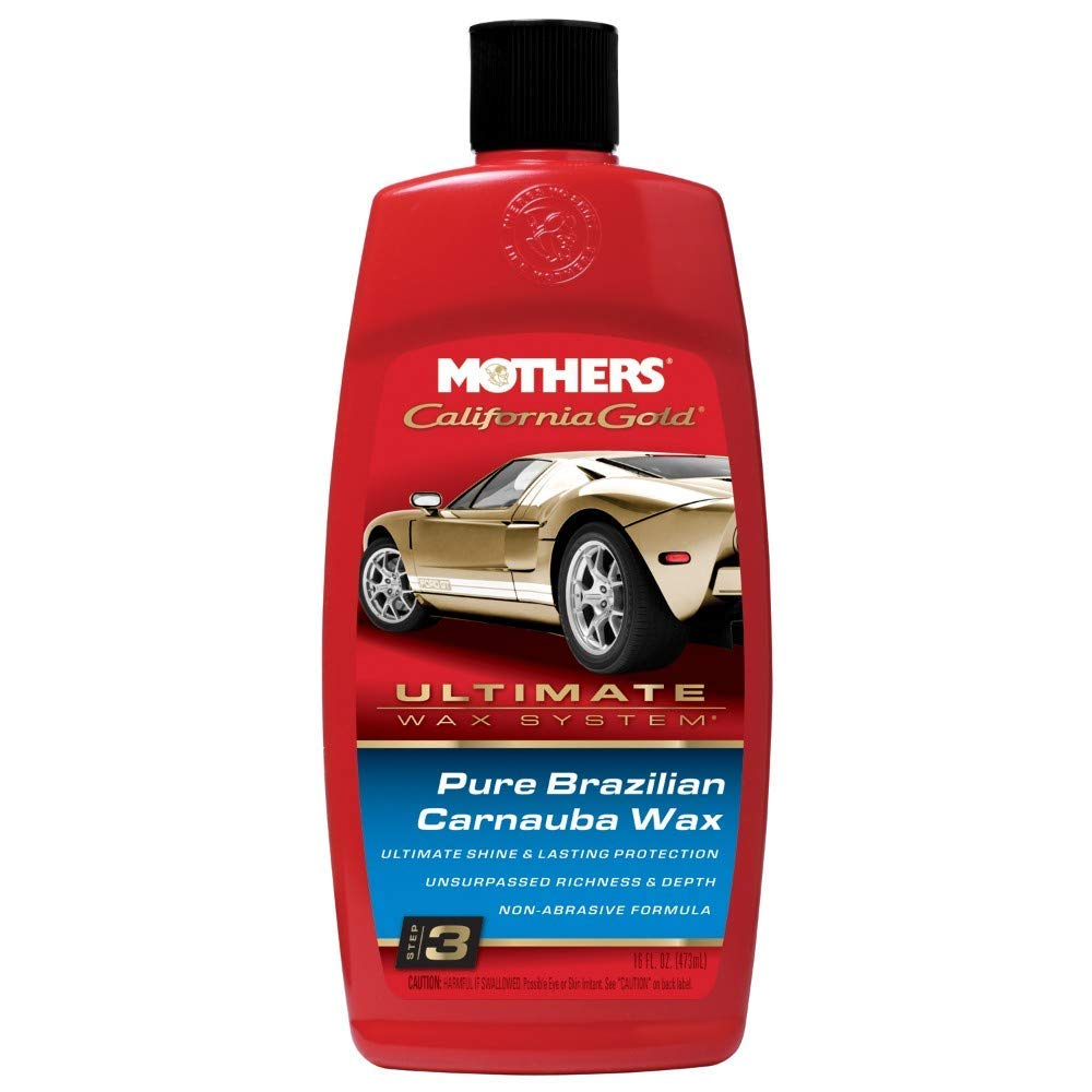 Mothers California Gold Pure Brazilian Carnauba Liquid Wax