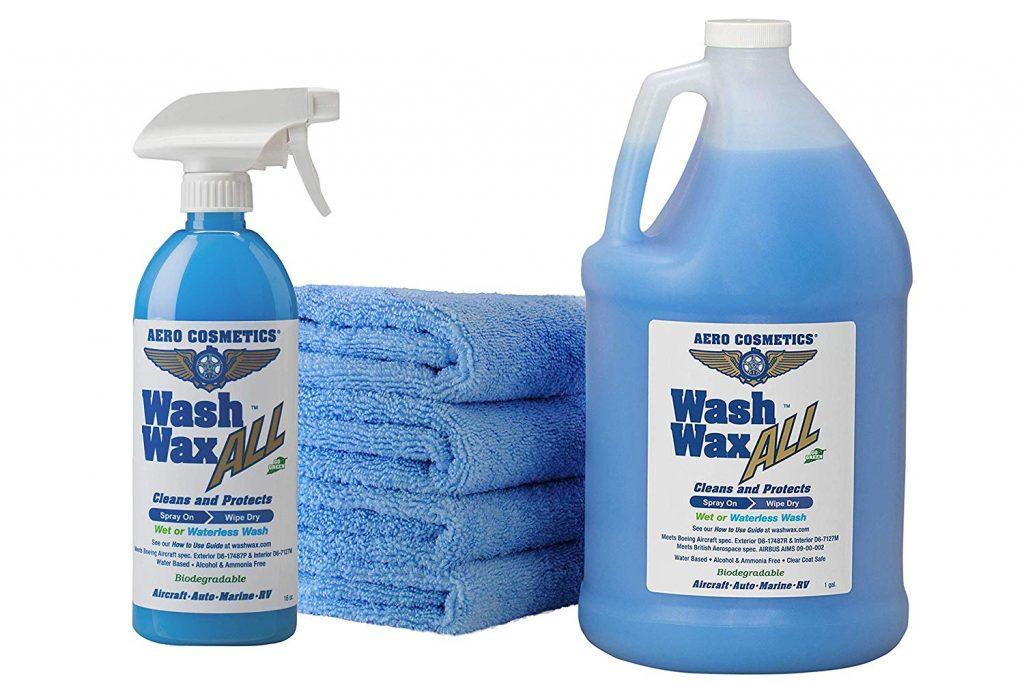 Aero Cosmetics Wet or Waterless Car Wash Wax Kit