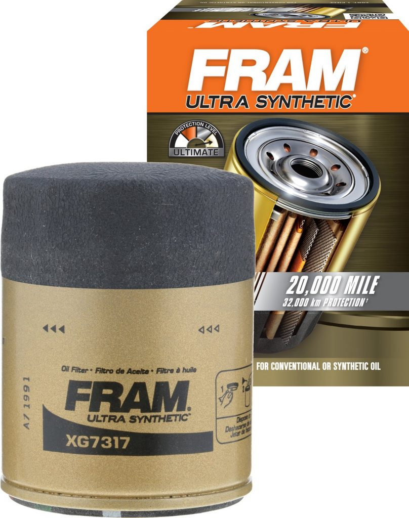 FRAM Ultra Synthetic Spin-On Oil Filter
