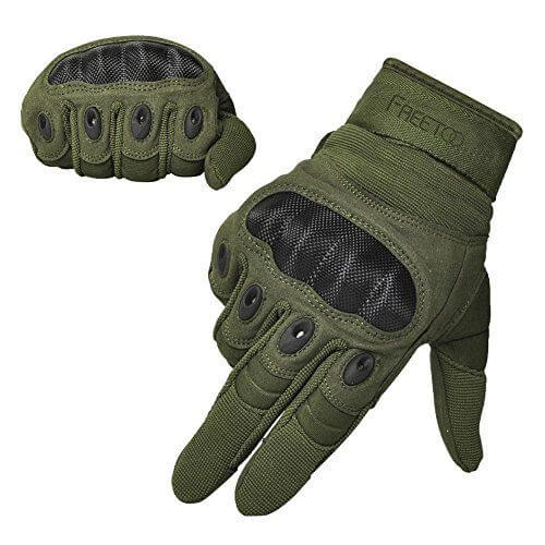 FREETOO Hard Knuckle Gloves