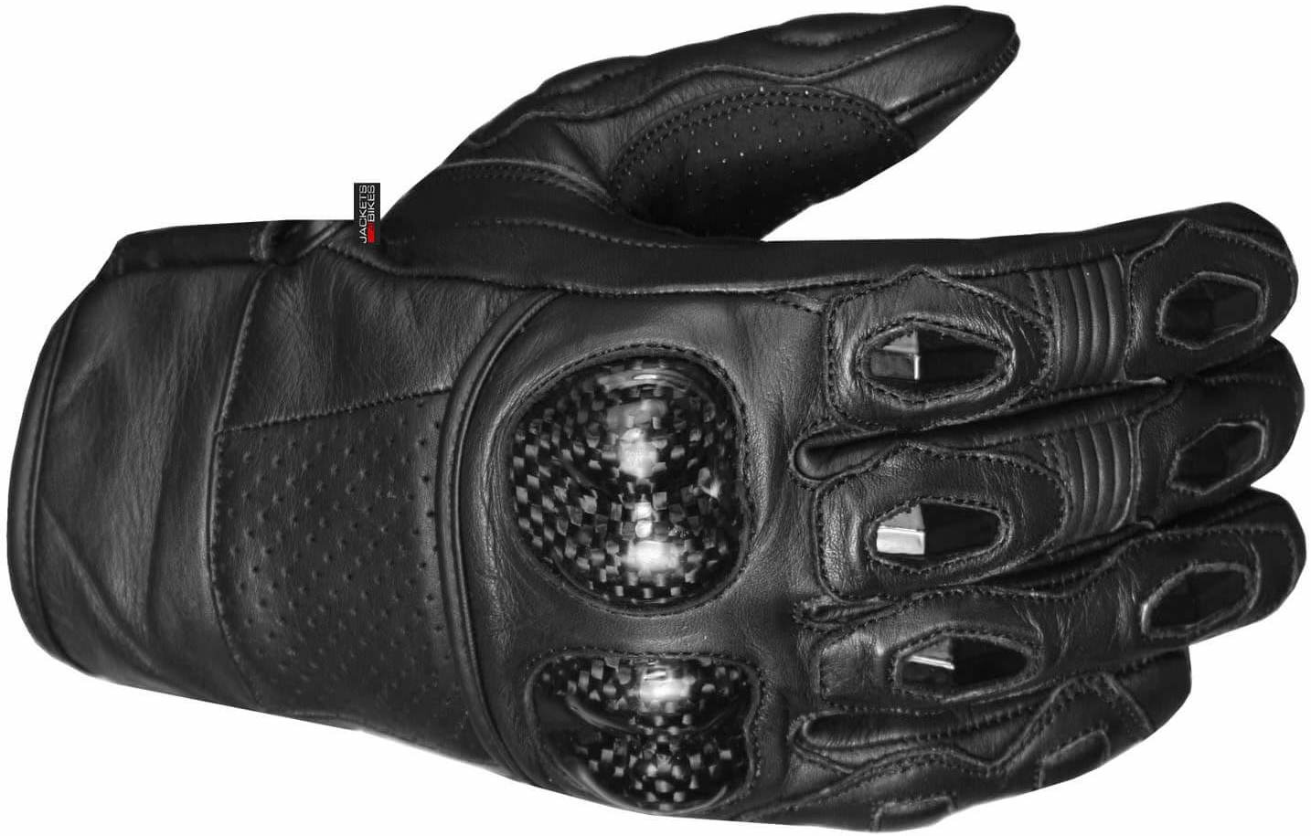 Jackets 4 Bikes Men's Leather Gloves