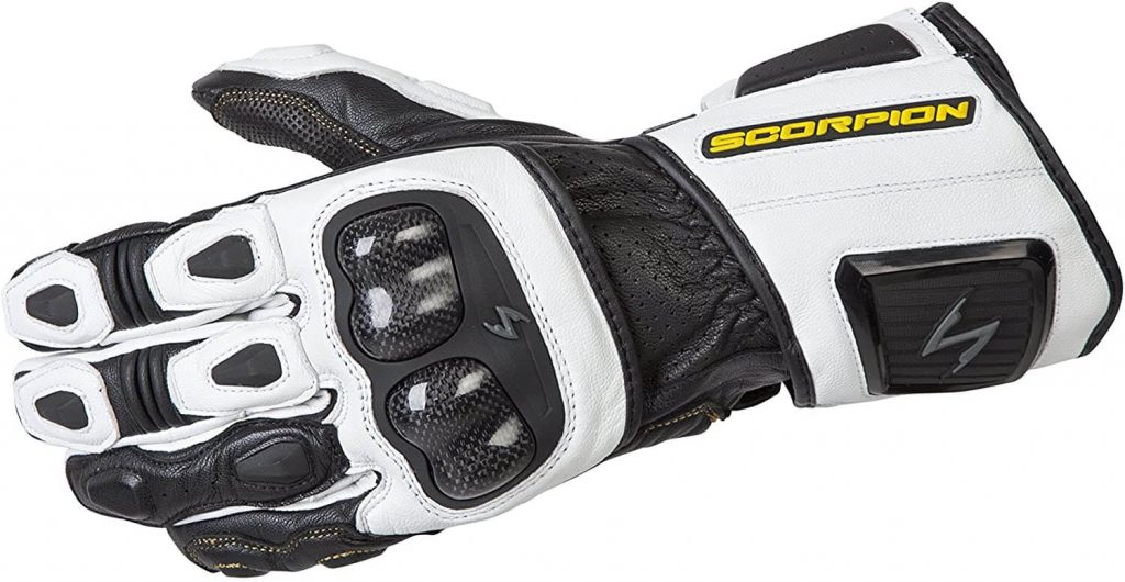 Racing motorcycle gloves