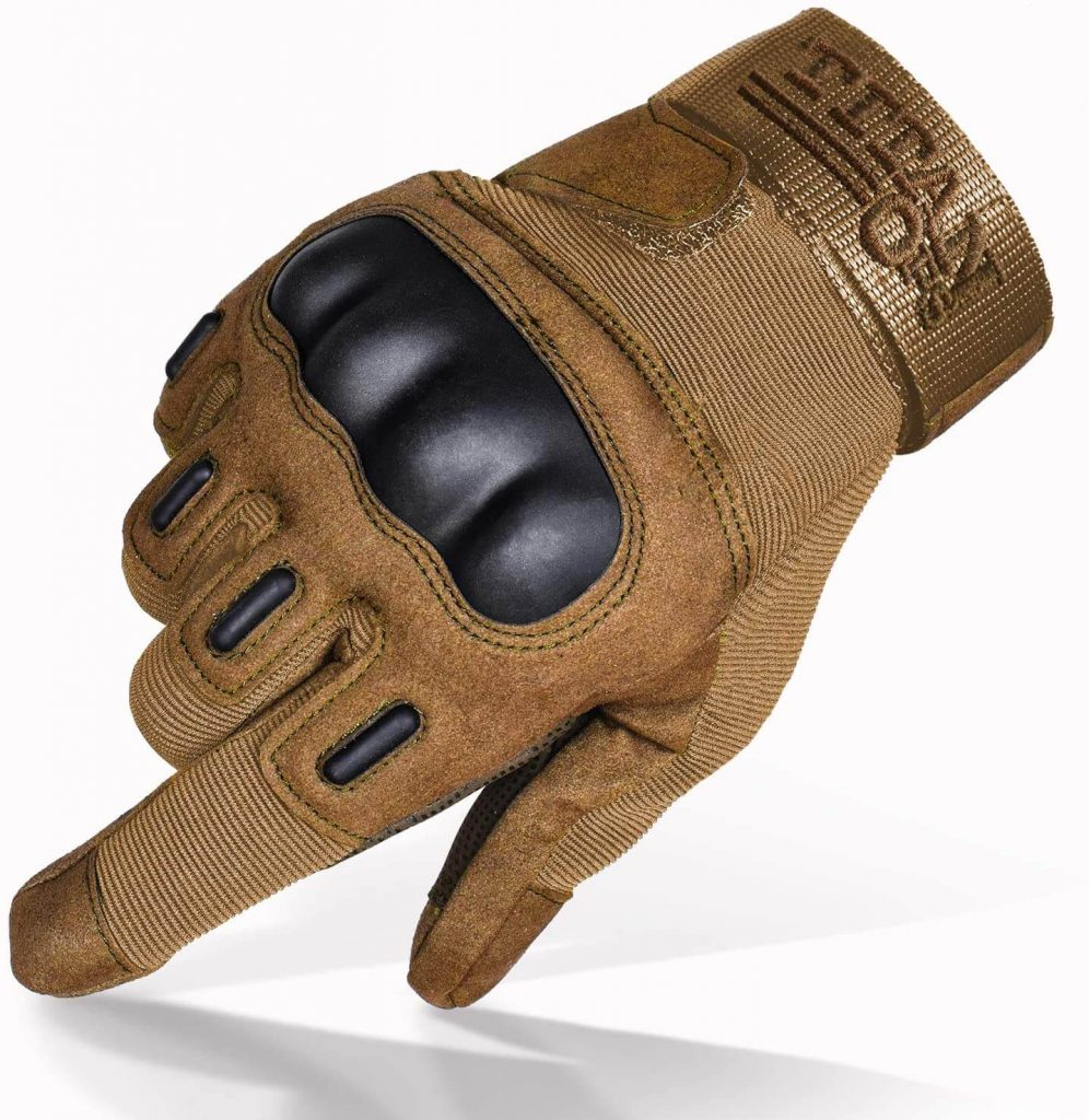 TitanOPS Full Finger Hard Knuckle Gloves