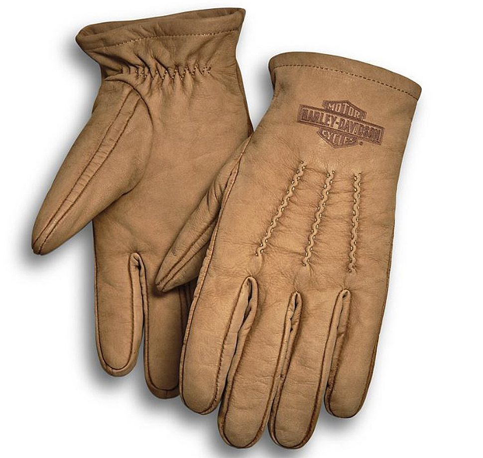 Harley Davidson Men's Peshtigo Leather Gloves