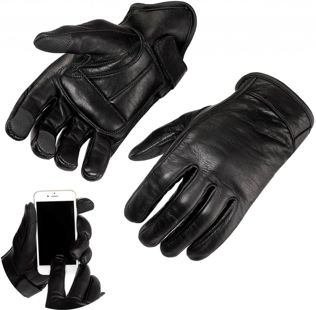 Viking Cycle Premium Leather Gloves