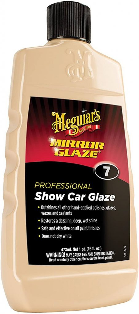 Meguiar's Mirror Glaze Professional Show Car Glaze #7