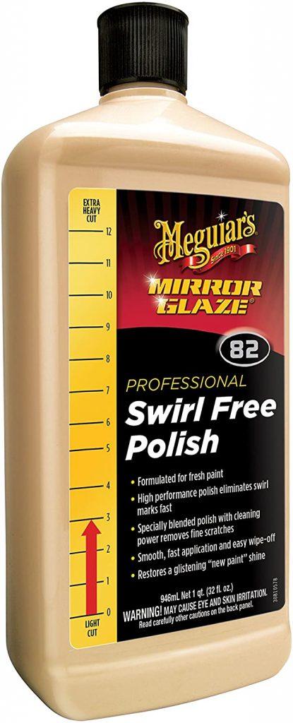 Meguiar's M82 Mirror Glaze Swirl Free Polish