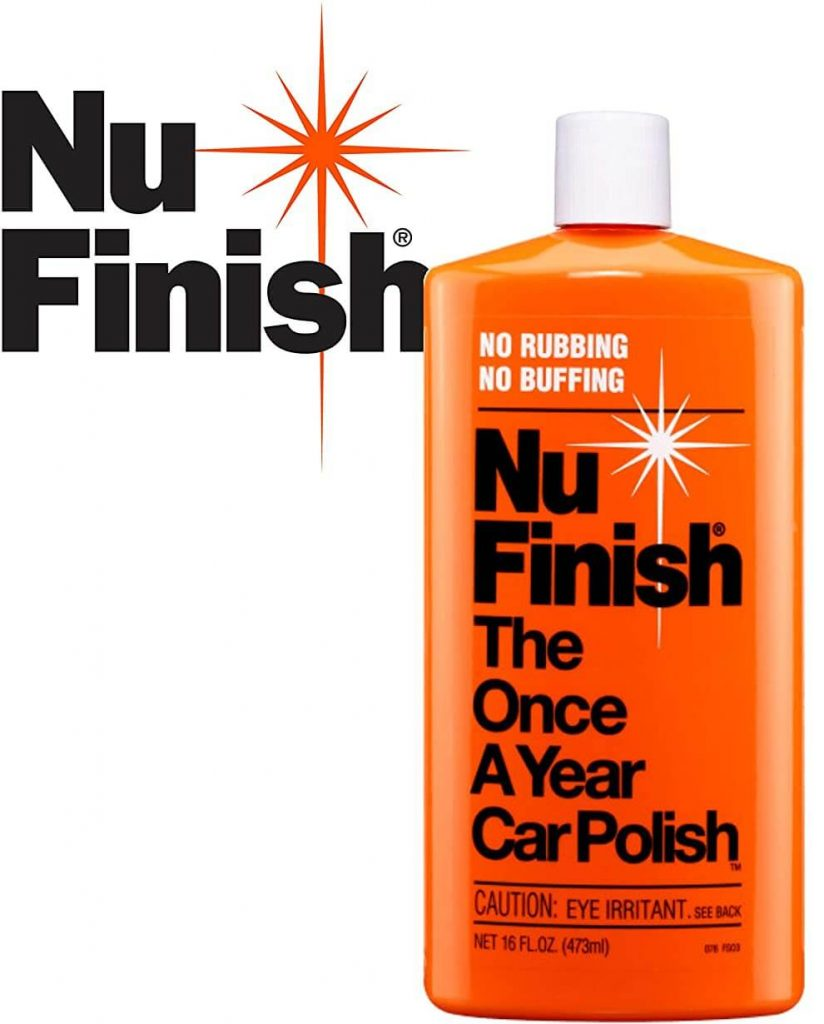 Nu Finish Once A Year Car Liquid Car Polish